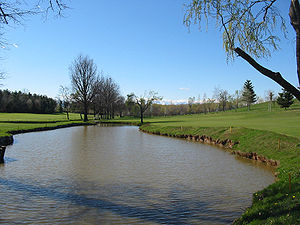 Water Hazard at Hole 5, La Margherita Golf Cou...