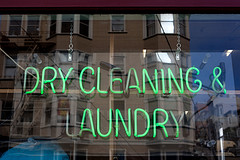Dry Cleaning Laundry